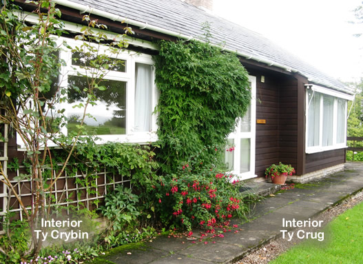 Accommodation Ty Cribyn & Ty Crug